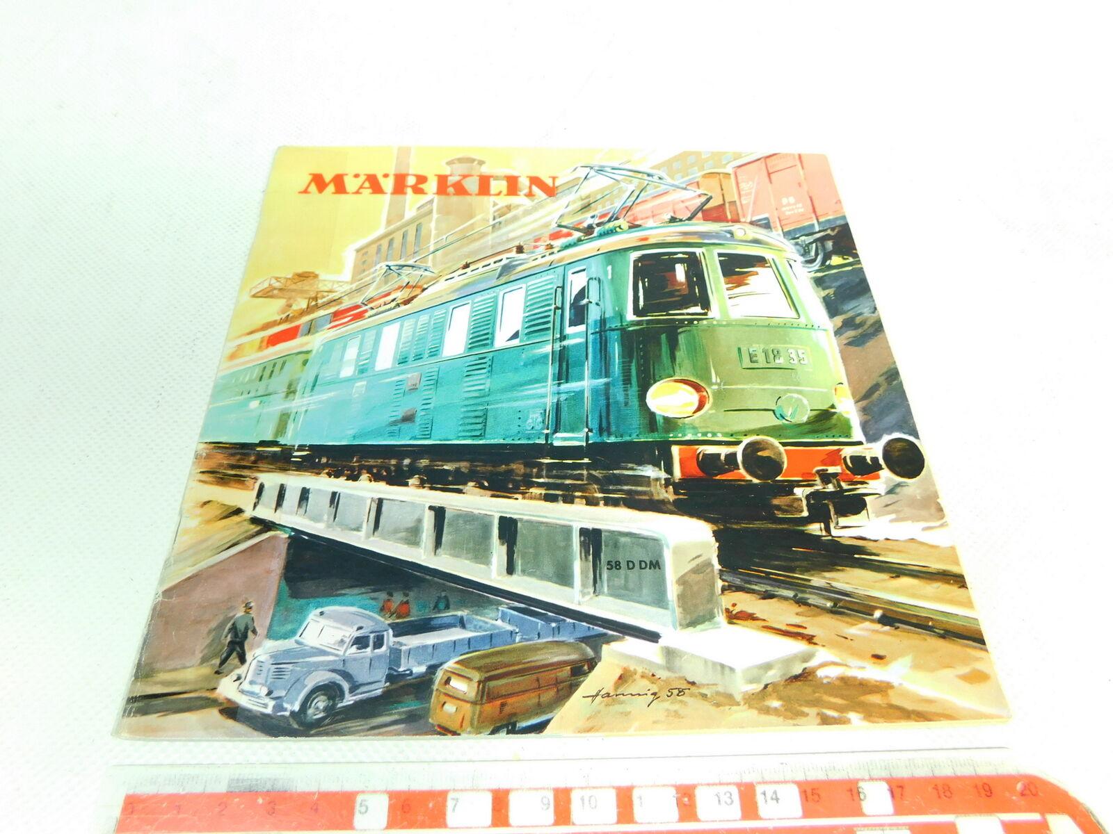 Bt670-0, 5    Catalogo 58 D dm/58ddm/1958 con coupon