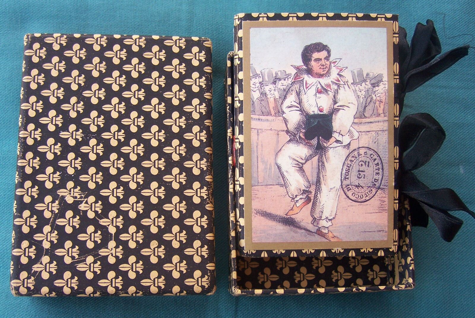 1996-IL MENEGHELLO-TRANSFORMATION PLAYING CARDS-TOSCANE-NUMERATO 21 DI 350-REPRO