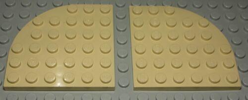 Lego Platte Ecke abgerundet 6x6 Beige 2255 Baukästen & Konstruktion
