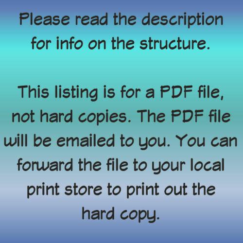 20x24 Duplex 960 sq ft Model 2 PDF Floor Plan