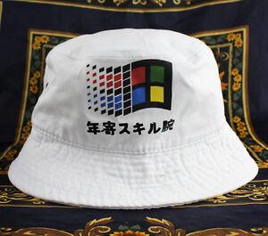 7f2216a84c084 Image is loading Windows-Japanese-Bucket-Hat-vaporwave-cloud-rap-6-