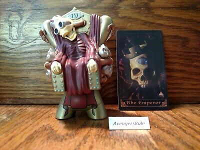 Arcane Divination Mini Series 2 Vinyl Figure Kidrobot Brand New The Emperor