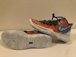 Men's Nike Kyrie 5 Spongebob Pineapple House Size 13 ...