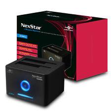 "Vantec NexStar 2.5""/3.5"" SATA to SuperSpeed USB 3.0 & eSATA Dual Bay Hard Drive"