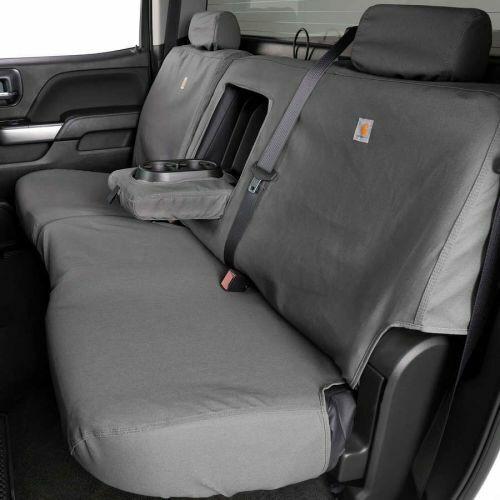 Covercraft SSC8445CAGY Carhartt SeatSaver 2nd Row Custom Seat Covers Gravel