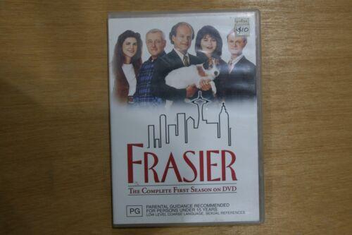 1 of 1 - Frasier : Season 1 (DVD, 2004, 4-Disc Set)   - VGC Pre-owned (D45)