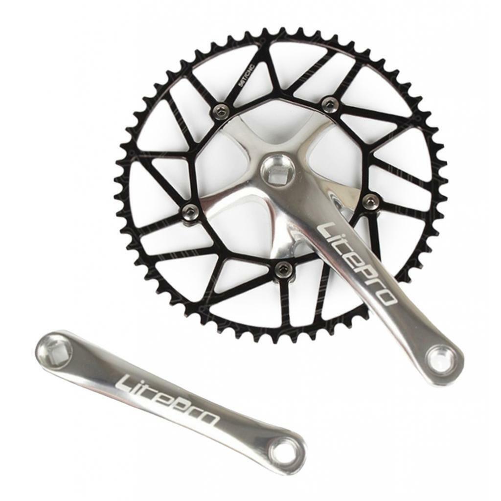 9-11 vitesses pédalier 170mm manivelles 130 BCD pédalier pour vélo de