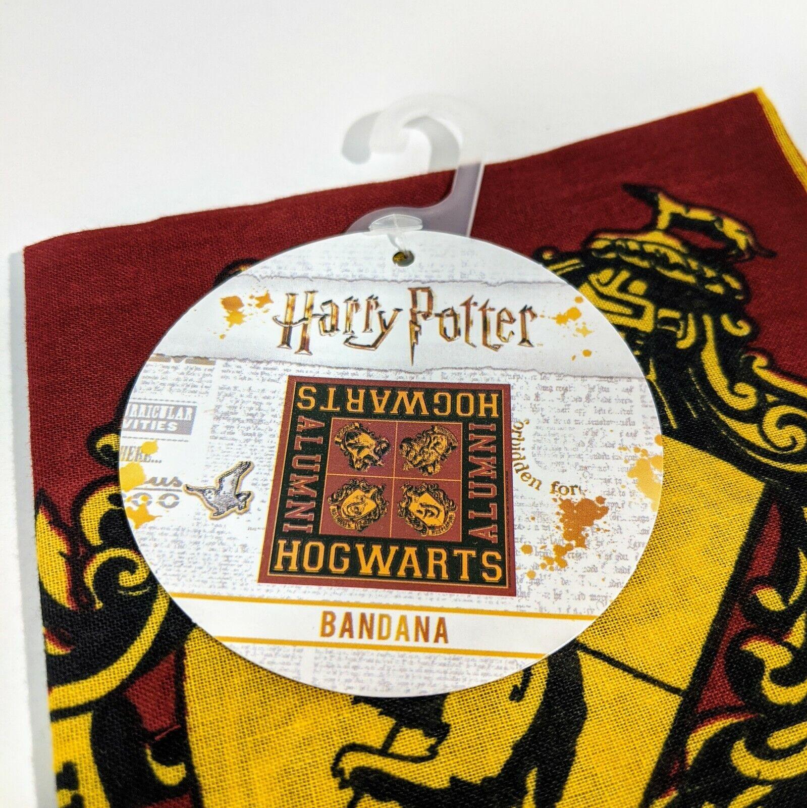 New Harry Potter Hogwarts Alumni Handkerchief Bandana head scarf 22