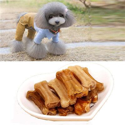"10pcs Dainty Chews Snack Food Treats Bones for Pet Dog 2"""