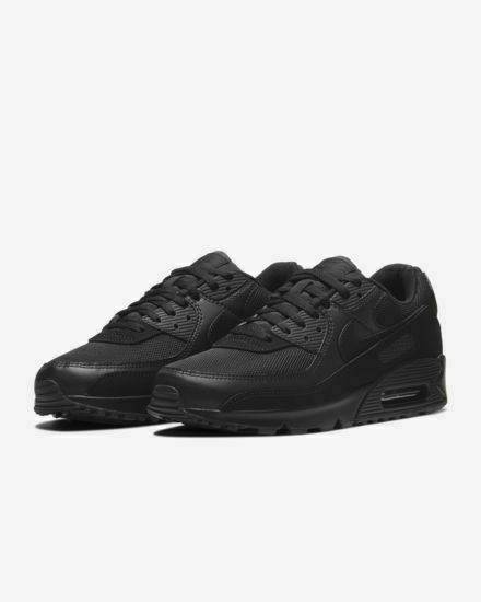 Size 13 - Nike Air Max 90 Triple Black 2020 for sale online | eBay