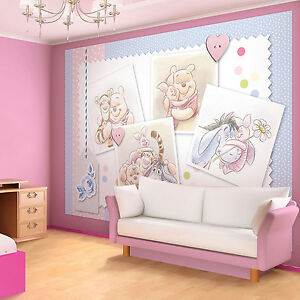 vlies fototapete fototapeten tapete tapeten kinder disney winnie pooh 1491 ve ebay. Black Bedroom Furniture Sets. Home Design Ideas