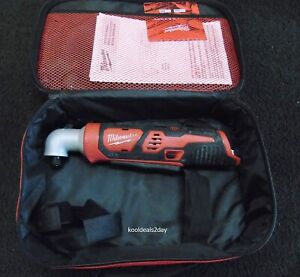 """MILWAUKEE 2467-20 12V 1/4"""" RIGHT ANGLE IMPACT DRIVER M12 (TOOL ONLY)"""