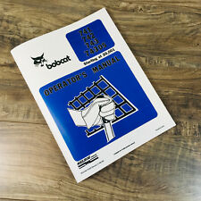 Bobcat 741 742 743 743ds Skid Steer Loader Operators Manual Starting At 20001