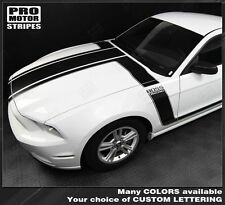Ford Mustang Boss 302 Style Hood and Side Stripes 2013 2014 Pro Motor Graphics