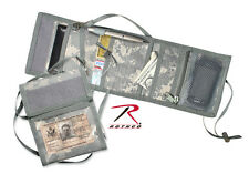 New Deluxe ACU Digital Camo Heavyweight Poly ID Holder w/ Adjustable Neck Strap