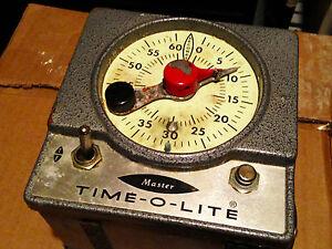 Time-O-Lite Master M72-60 Darkroom Timer Ugly but Works!