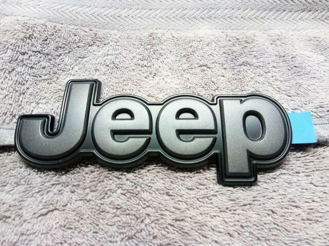 14-18 Jeep Cherokee KL CHROME LONGITUDE EMBLEM NAMEPLATE DECAL OEM NEW MOPAR