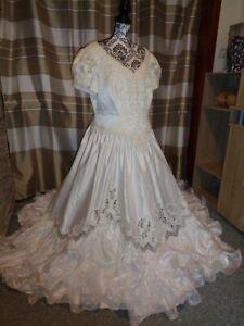 (B6)Edles Damen Braut Standesamt Abend Kleid GR: GR: 50 | eBay