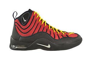 849f27c967e417 ... Image is loading Nike-AIR-BAKIN-Red-Tim-Hardaway-Miami ...