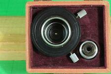 Leitz Microscope 1.2 n.a. Darkfield Condenser w Box and Iris Boot