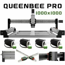 New Listing1000x1000mm Queenbee Pro Cnc Router Machine Mechanical Kit 4 Axis T8 Screw Drive