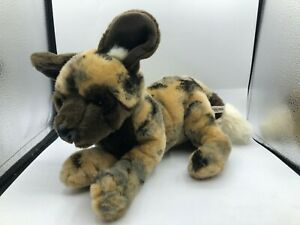Another-Korimco-Friend-African-Wild-Dog-Plush-Kids-Soft-Stuffed-Toy-Animal-Doll