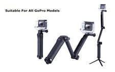3-Way Portable Selfie Stick Tripod Monopod Mount f GoPro Hero 4 3+ SJ4000 Sports