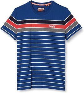 Superdry-Orange-Label-State-Bretton-Crew-Neck-Logo-T-shirt-Cotton-Tee-True-Blue