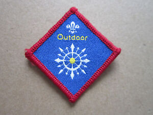 Outdoor-Challenge-Proficiency-Woven-Cloth-Patch-Badge-Boy-Scouts-Scouting