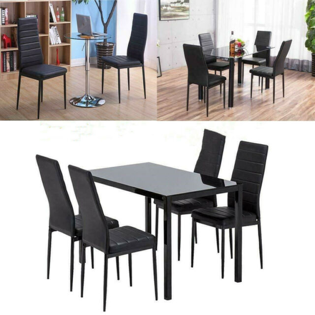 Modern Dining Chair Set Of 4 Upholstered Kitchen Room Armless Chair Furniture Us For Sale Online