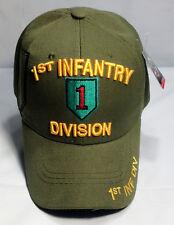 c1eac820ed7d4 item 2 US ARMY 1st Infantry Division Ball Cap Vietnam Gulf OEF OIF Veteran  Vet Hat OD -US ARMY 1st Infantry Division Ball Cap Vietnam Gulf OEF OIF  Veteran ...