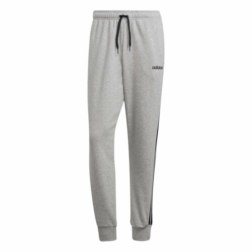 ADIDAS Mens Essentials 3-Stripe Tapered Joggers Colours: Grey or Black