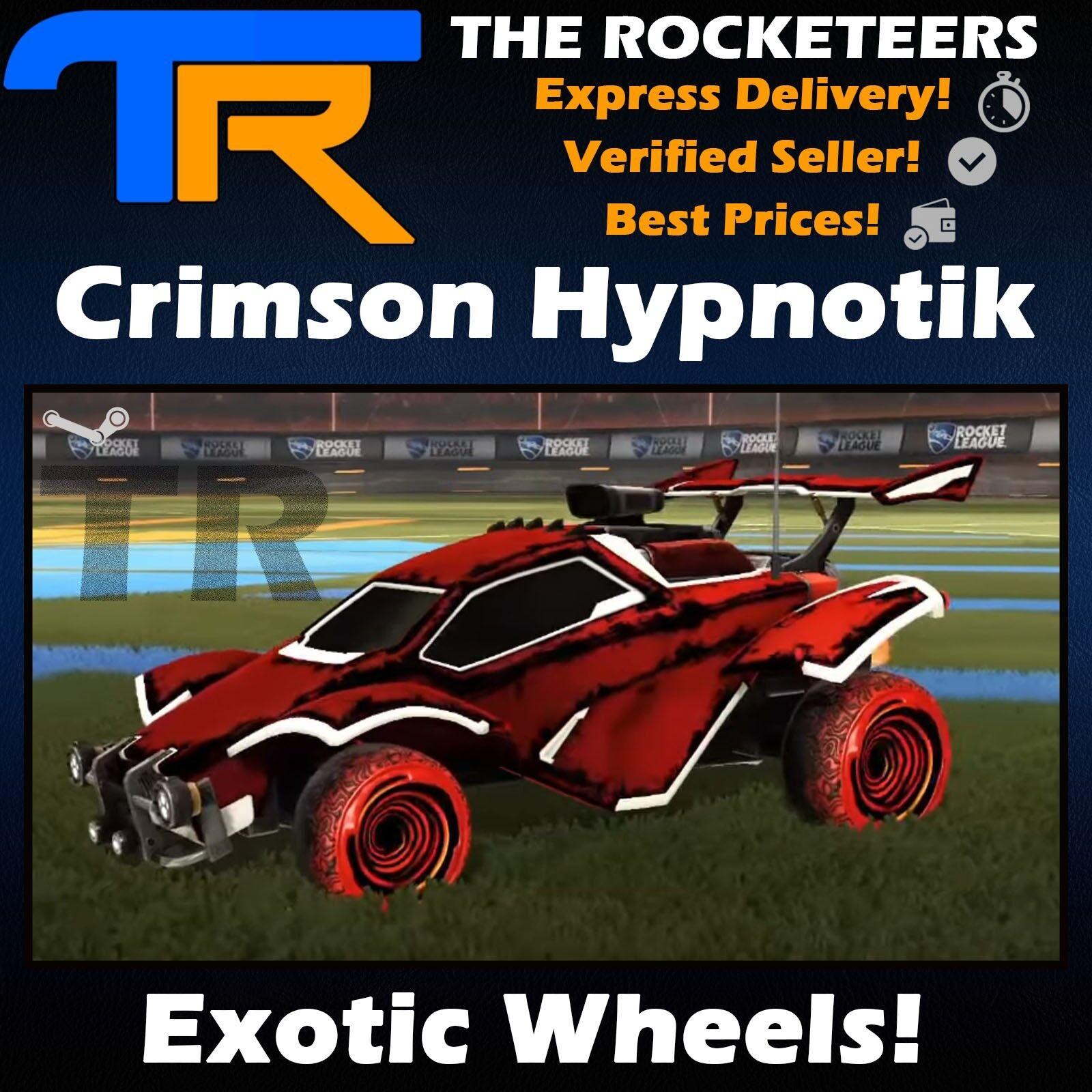 Pc Rocket League Every Painted Santa Fe Exotic Wheels Impact Crate New Ebay