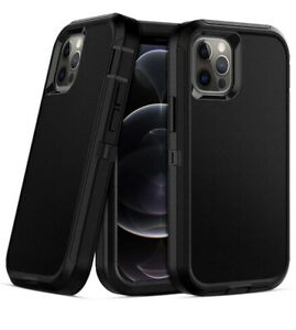 For-iPhone-11-12-Pro-Max-Hybrid-Kickstand-Cover-Heavy-Duty-Armor-Case-Belt-Clip