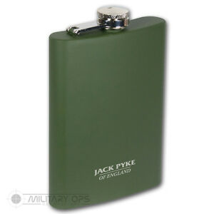 JACK-PYKE-235ML-HIP-FLASK-DRINK-HUNTING-SHOOTING-OUTDOORS-COUNTRY