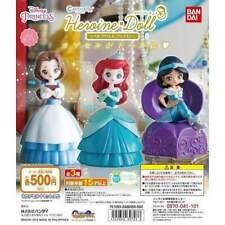 Bandai Kapukyara heroine Doll Disney Princess Gashapon 4 set mini figure toys