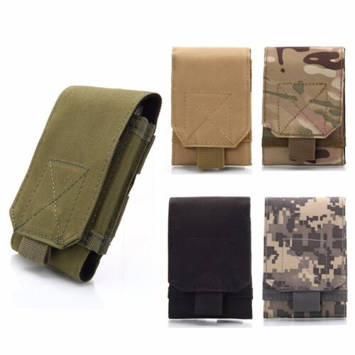 5.5 Inch Mobile Phone Case Belt Pouch Hook Loop Holster Cellphone Cover Bags