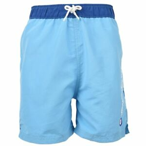 8f472327723e Image is loading Designer-BEN-SHERMAN-Boys-Turquoise-Blue-Swim-Shorts-