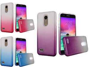 buy online d6761 e30e2 Details about For LG K30 /Phoenix Plus/Premier Pro LM L413DL L413DG  LML414DL 2Tone Case Cover