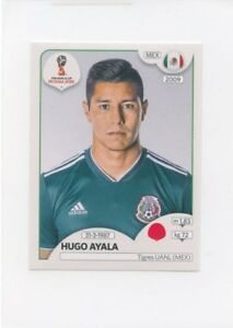 2018 PANINI STICKER FIFA WORLD CUP RUSSIA #455 HUGO AYALA MEXICO *49282