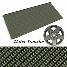 100x50cm Black Carbon Fiber Water Transfer Dipping Hydrographics Hydro Film
