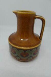Hornsea-Pottery-Bronte-Oil-Vinegar-Jar-Brown-1975-Vintage-British