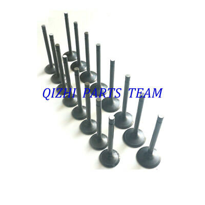 Intake x 4 V1902 Engine Valve Set for KUBOTA V1702 Exhaust x 4