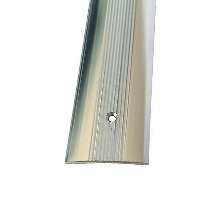 Cover Strip -  Carpet Metal -  Door Bar Trim - Threshold - Brass/Silver