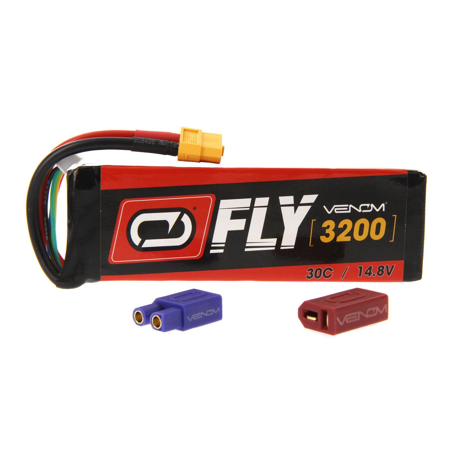 Hangar 9 Alfa 40 30C 4S 3200mAh 14.8V Batería Lipo Con Enchufe Uni 2.0 por Venom