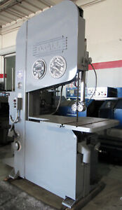 DoALL-36-034-VERTICAL-METAL-CUTTING-BAND-SAW-w-36-034-Table-10-HP