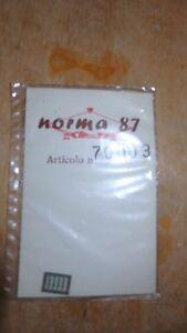 100% Vrai Norma 87 Art. 70003 Numéros De Prima Classe Pour Carrosses Fs Scala 1:87