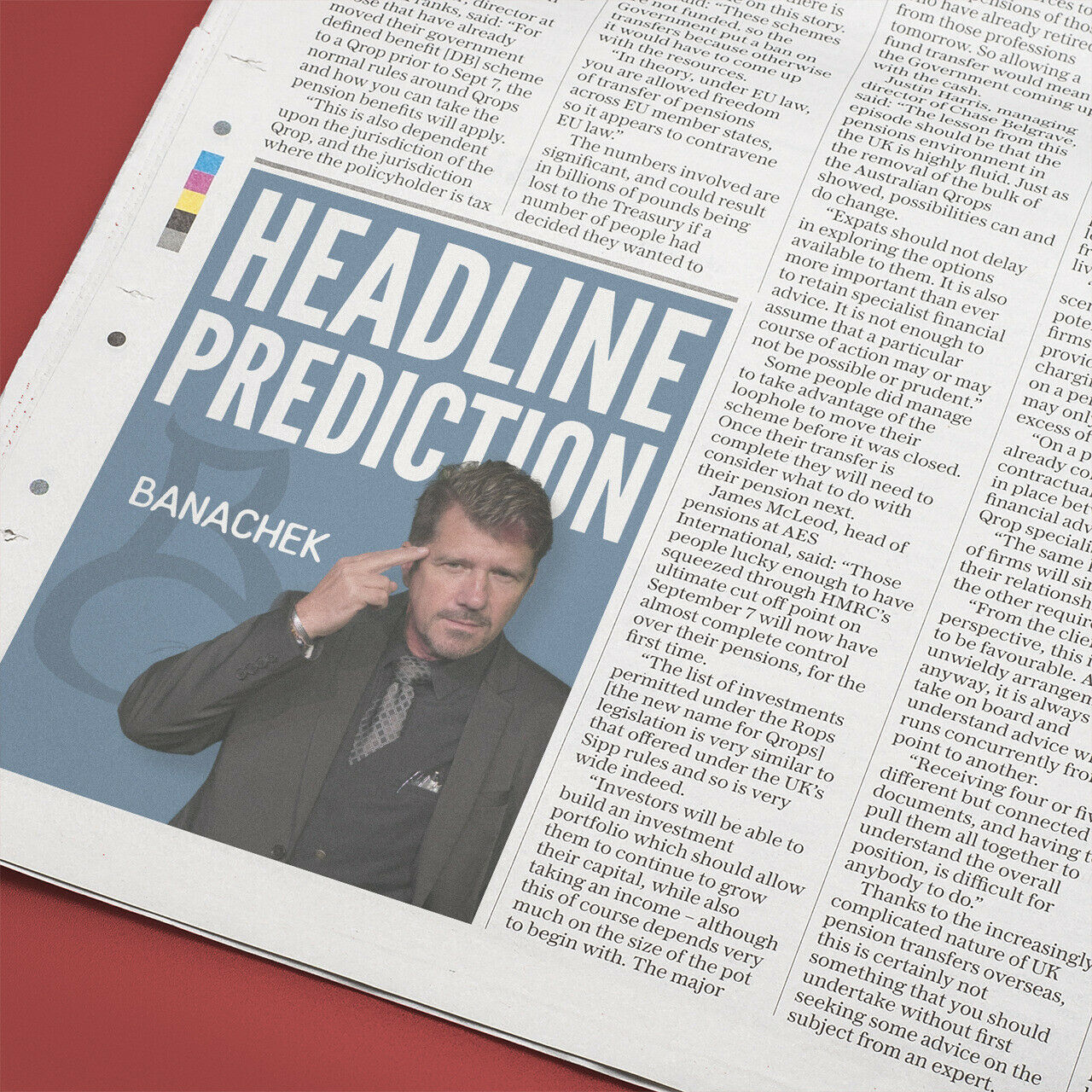bonus Headline Prediction by Banachek mentalism magic