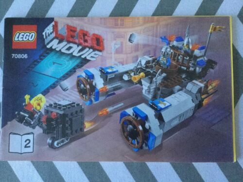 Lego instructions only No.70806