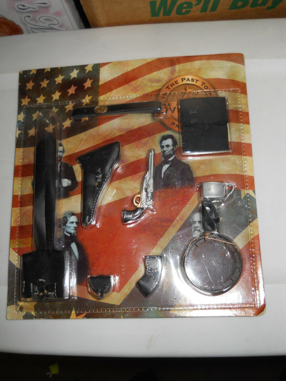 1 6 Scale In the Past Toys Civil War Union - United States weapon Set MOC
